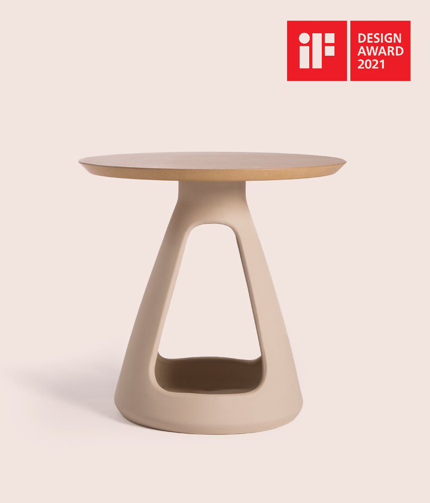 Knossos side table win an IF Award 2021!